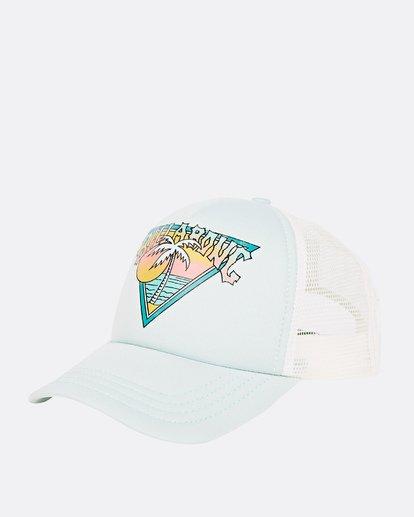 0 Girls' Ohana Trucker Hat Blue GAHWQBOH Billabong