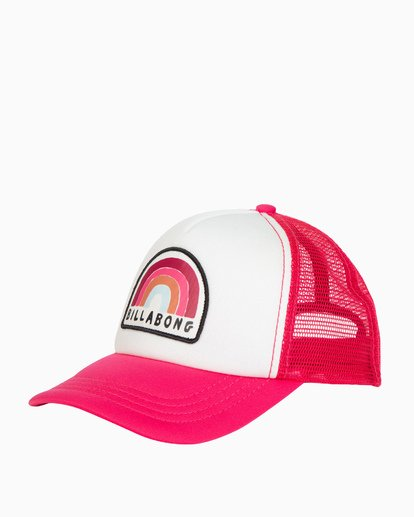 0 Girls' Ohana Trucker Hat Pink GAHWQBOH Billabong