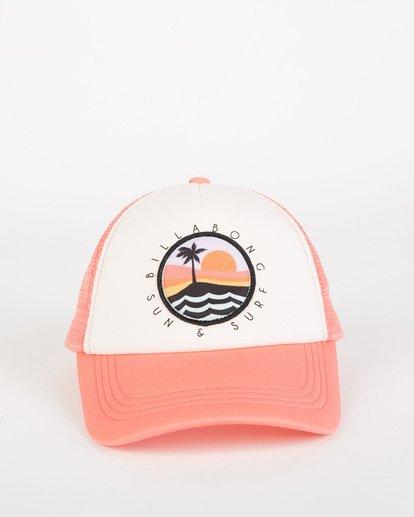 1 Girls' Ohana Trucker Hat Pink GAHWQBOH Billabong