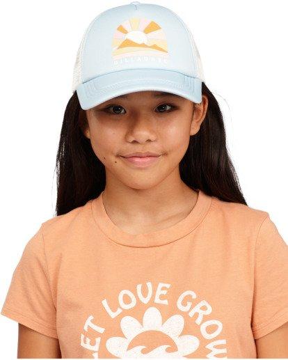 3 Girls' Ohana Trucker Hat Blue GAHWQBOH Billabong