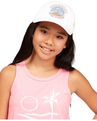 1 Girls' Ohana Trucker Hat White GAHWQBOH Billabong