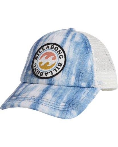 1 Girls' Shenanigans Trucker Hat Blue GAHWQBSH Billabong