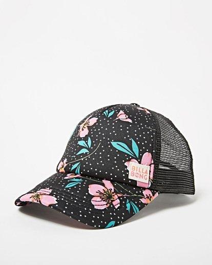 0 Girls' Shenanigans Trucker Hat Multicolor GAHWQBSH Billabong