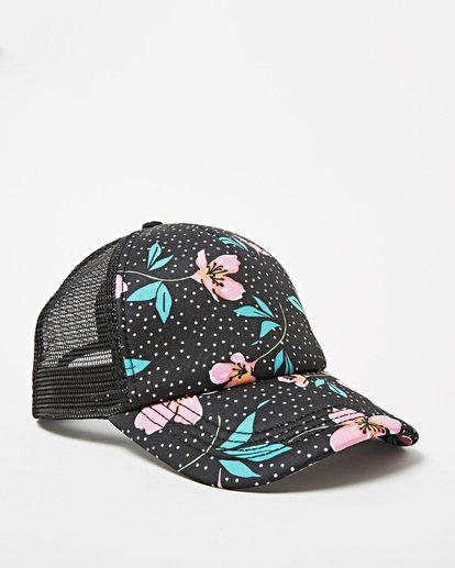 2 Girls' Shenanigans Trucker Hat Multicolor GAHWQBSH Billabong
