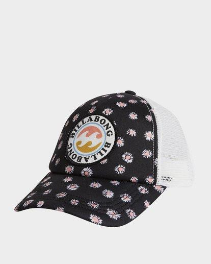 1 Girls' Shenanigans Trucker Hat Black GAHWQBSH Billabong