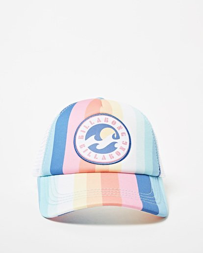 1 Girls' Shenanigans Trucker Hat Grey GAHWQBSH Billabong