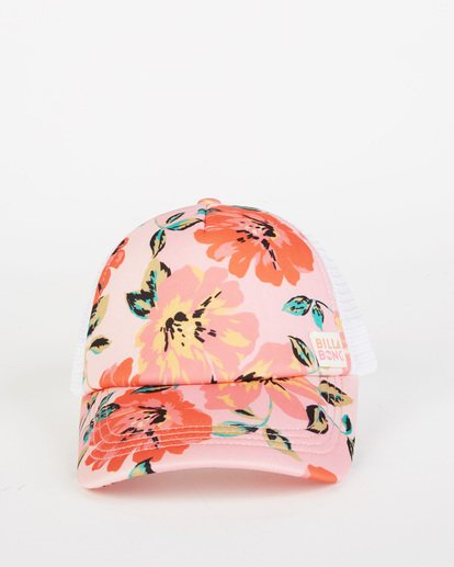 1 Girls' Shenanigans Trucker Hat Pink GAHWQBSH Billabong