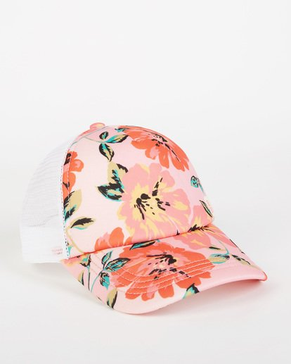 2 Girls' Shenanigans Trucker Hat Pink GAHWQBSH Billabong