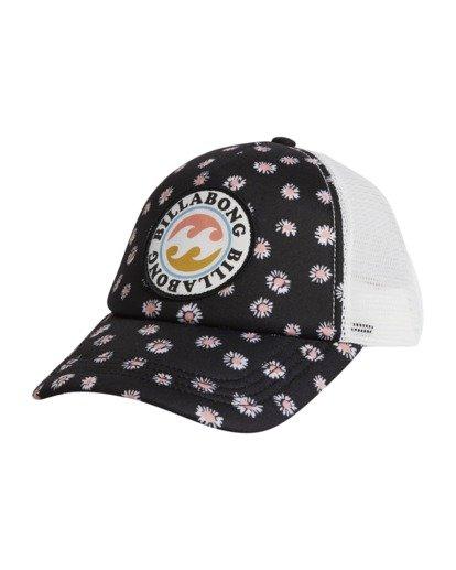 5 Girls' Shenanigans Trucker Hat Black GAHWQBSH Billabong
