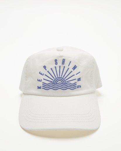 1 Girls' Surf Club Baseball Cap White GAHWQBSU Billabong
