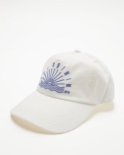 0 Girls' Surf Club Baseball Cap White GAHWQBSU Billabong