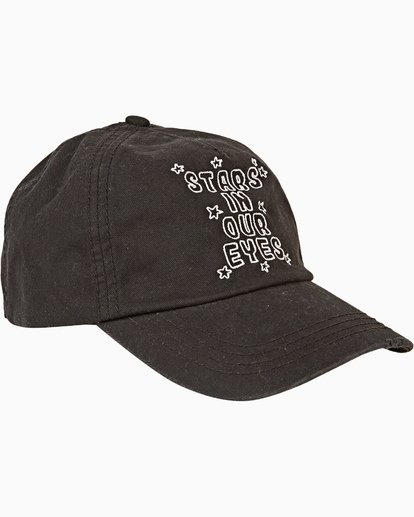 2 Girls' Surf Club Baseball Cap Black GAHWQBSU Billabong