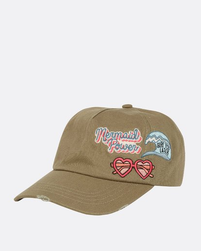 0 Surf Club Baseball Cap Green GAHWQBSU Billabong