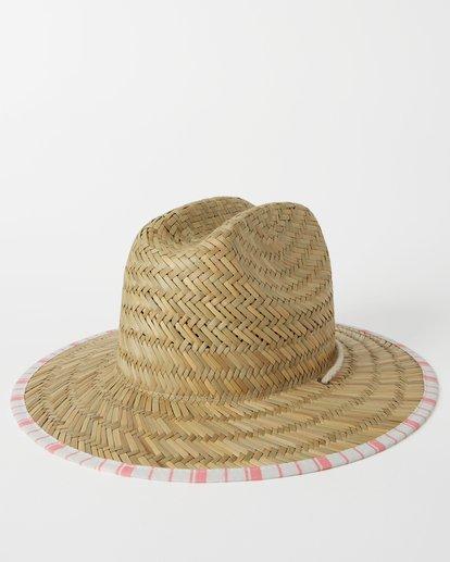 5 Girls' Beach Dayz Lifeguard Hat Orange GAHWTBBE Billabong
