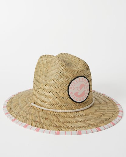 3 Girls' Beach Dayz Lifeguard Hat Orange GAHWTBBE Billabong
