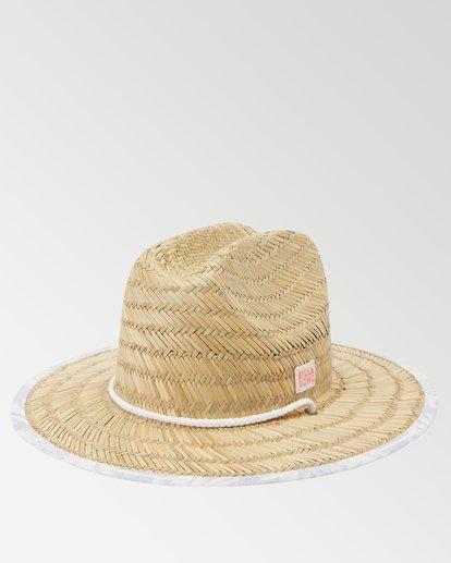 0 Girls' Beach Dayz Lifeguard Hat Brown GAHWTBBE Billabong