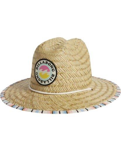 1 Girls' Beach Dayz Lifeguard Hat Red GAHWTBBE Billabong