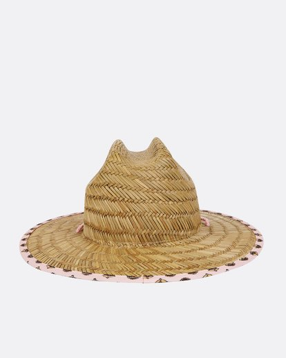 3 Girls' Beach Dayz Lifeguard Hat Beige GAHWTBBE Billabong
