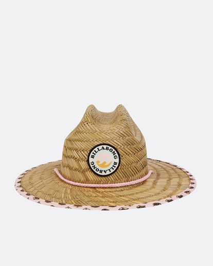 1 Girls' Beach Dayz Lifeguard Hat Beige GAHWTBBE Billabong