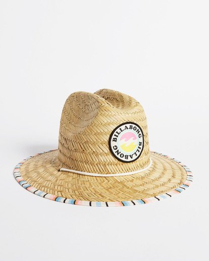 1 Girls' Beach Dayz Lifeguard Hat Red GAHWTBBE Billabong