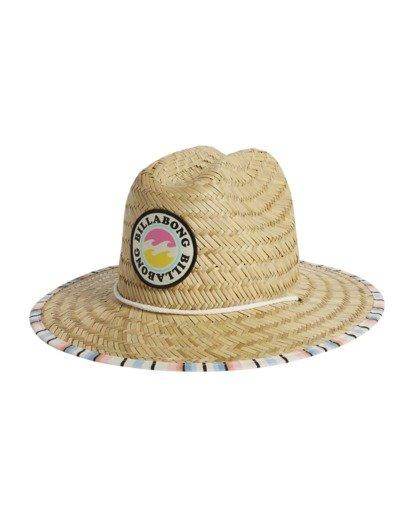 5 Girls' Beach Dayz Lifeguard Hat Red GAHWTBBE Billabong