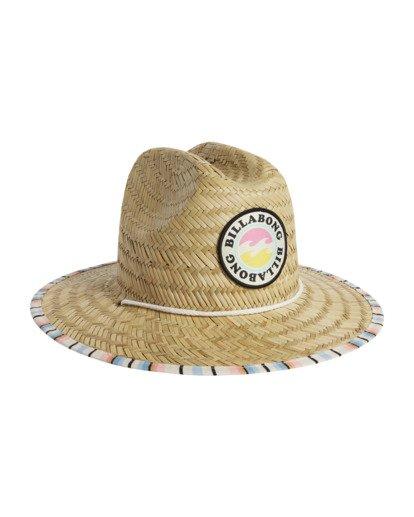 6 Girls' Beach Dayz Lifeguard Hat Red GAHWTBBE Billabong
