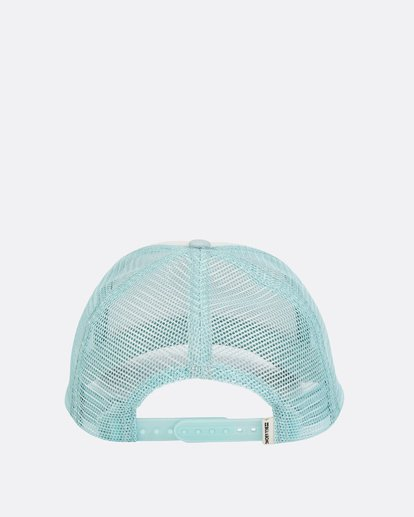 3 Girls' Cali Vibes Trucker Hat White GAHWTBCA Billabong