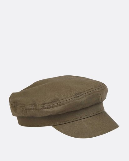 2 Girls' Jr Captain Captain Hat Green GAHWTBJR Billabong