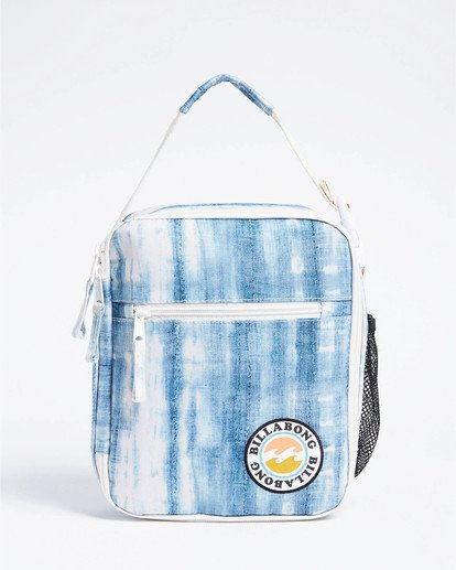 0 Girls' Snack Time Lunch Box Blue GAMC3BSN Billabong