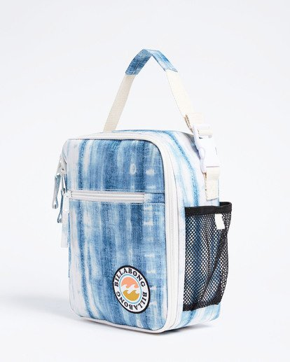 4 Girls' Snack Time Lunch Box Blue GAMC3BSN Billabong