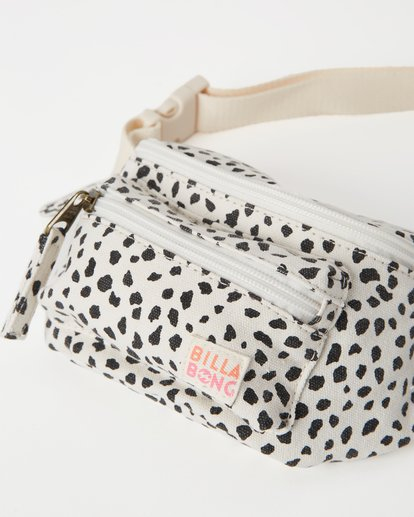 2 Girls' Zip It Jr Waist Pack White GATVWBZI Billabong