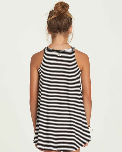 2 Girls' Choose You Dress Black GD01PBCH Billabong