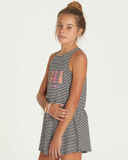 1 Girls' Choose You Dress Black GD01PBCH Billabong
