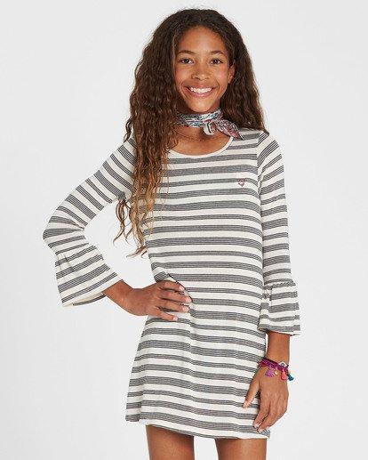 0 Girls' Daytime Dancing Striped Dress  GD01SBDA Billabong