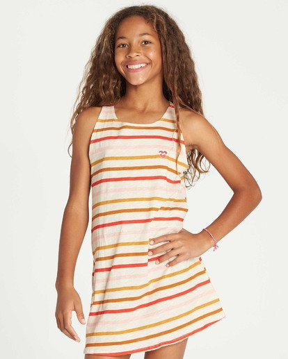 1 Girls' Choose You Tank Dress  GD01TBCH Billabong