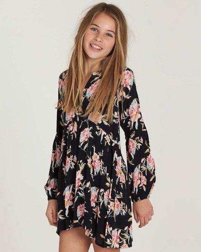 1 Girls' Tomorrows Child Dress Black GD02MTOM Billabong