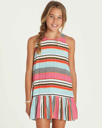 0 Girls' Universal Love Dress  GD03PBUN Billabong
