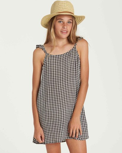 0 Girls' Envy The Sweet Dress Black GD03QBEN Billabong