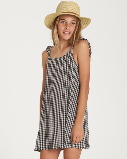 1 Girls' Envy The Sweet Dress Black GD03QBEN Billabong