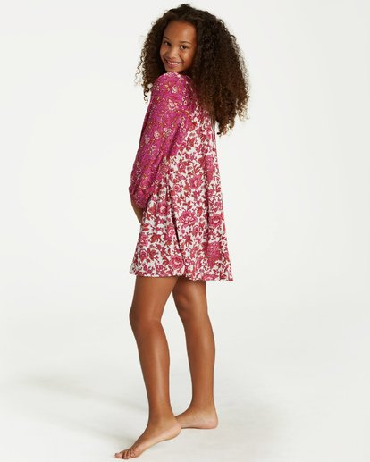 1 Girls' Hippie Dippie Dress Purple GD03VBHI Billabong