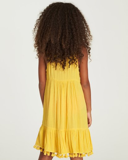 2 Sunny Gazer Dress Yellow GD04UBSU Billabong