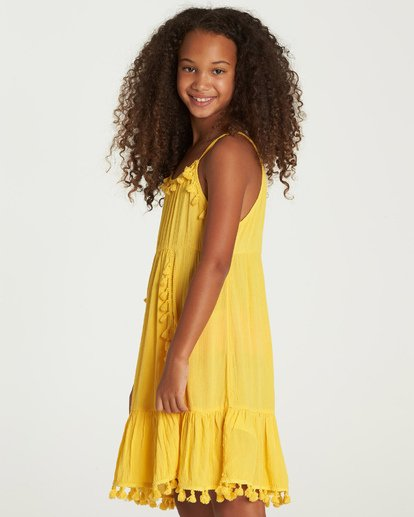 1 Sunny Gazer Dress Yellow GD04UBSU Billabong