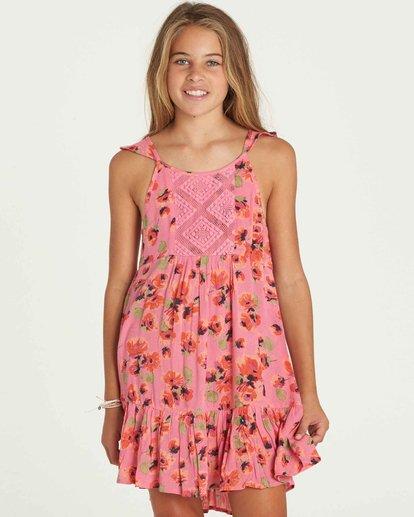 0 Girls' Sundazer Dress  GD05PBSU Billabong