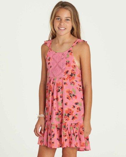 1 Girls' Sundazer Dress Pink GD05PBSU Billabong