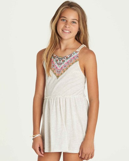 1 Girls' Soul Wax Dress Grey GD06PBSO Billabong