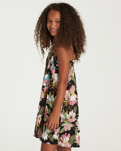 1 Girls' Love It All Dress Black GD06UBLO Billabong