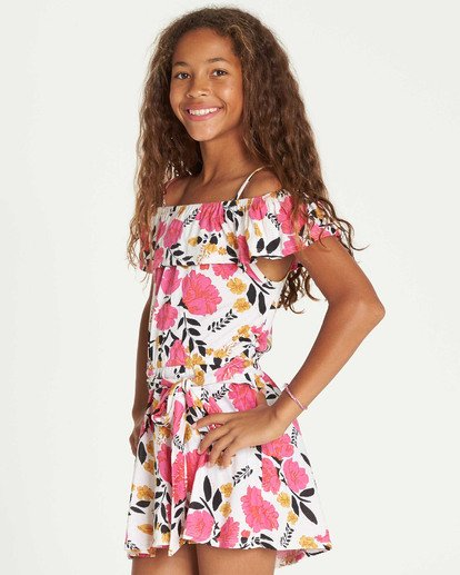 1 Girls' Sun Dancer Dress  GD07TBSU Billabong
