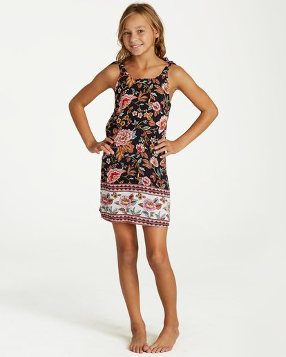 0 Girls' Night Envy Dress Black GD07VBNI Billabong
