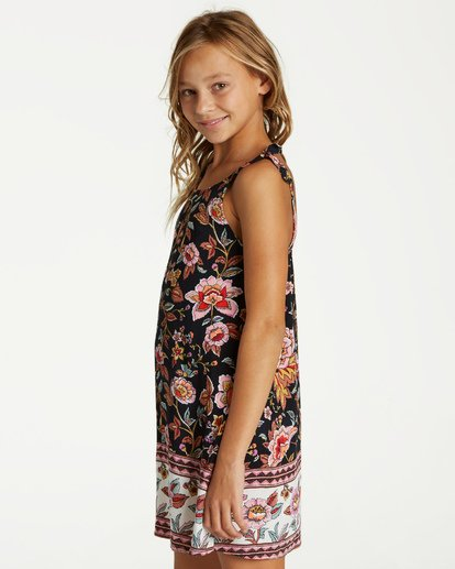 1 Girls' Night Envy Dress Black GD07VBNI Billabong