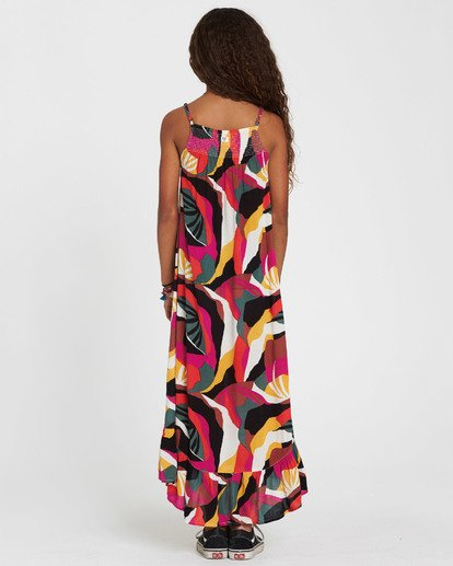 2 Girls' Maxed Out Printed Maxi Dress  GD08SBMA Billabong